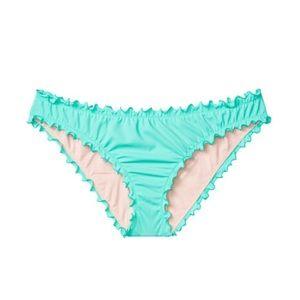 Victoria's Secret Ruffle-edge Cheeky Bikini Bottom